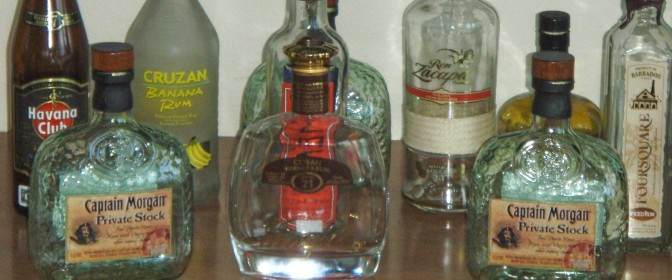 why are the rum bottles always empty ?