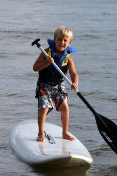 Evan Paddleboarding (2)
