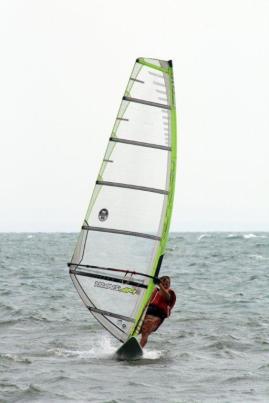 Joel Windsurfing