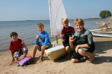 Liam, Ryan, Ben & Tanner Sailboat (2)