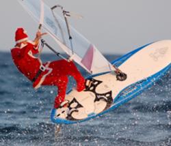 wind surf santa