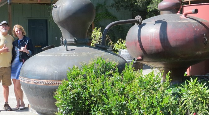 Pot Stills and Paddleboards ; On the West Coast part 2