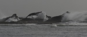 waves at boneyard