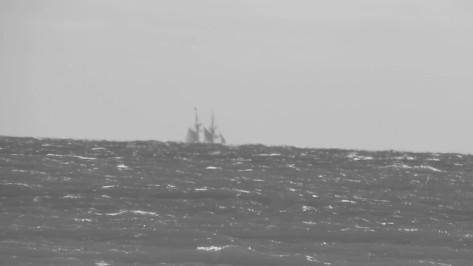 Is that a ghost Ship?