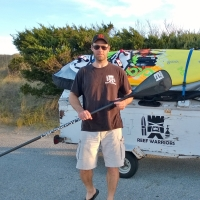 SUP Paddle review: Black Project Epic Pro 95