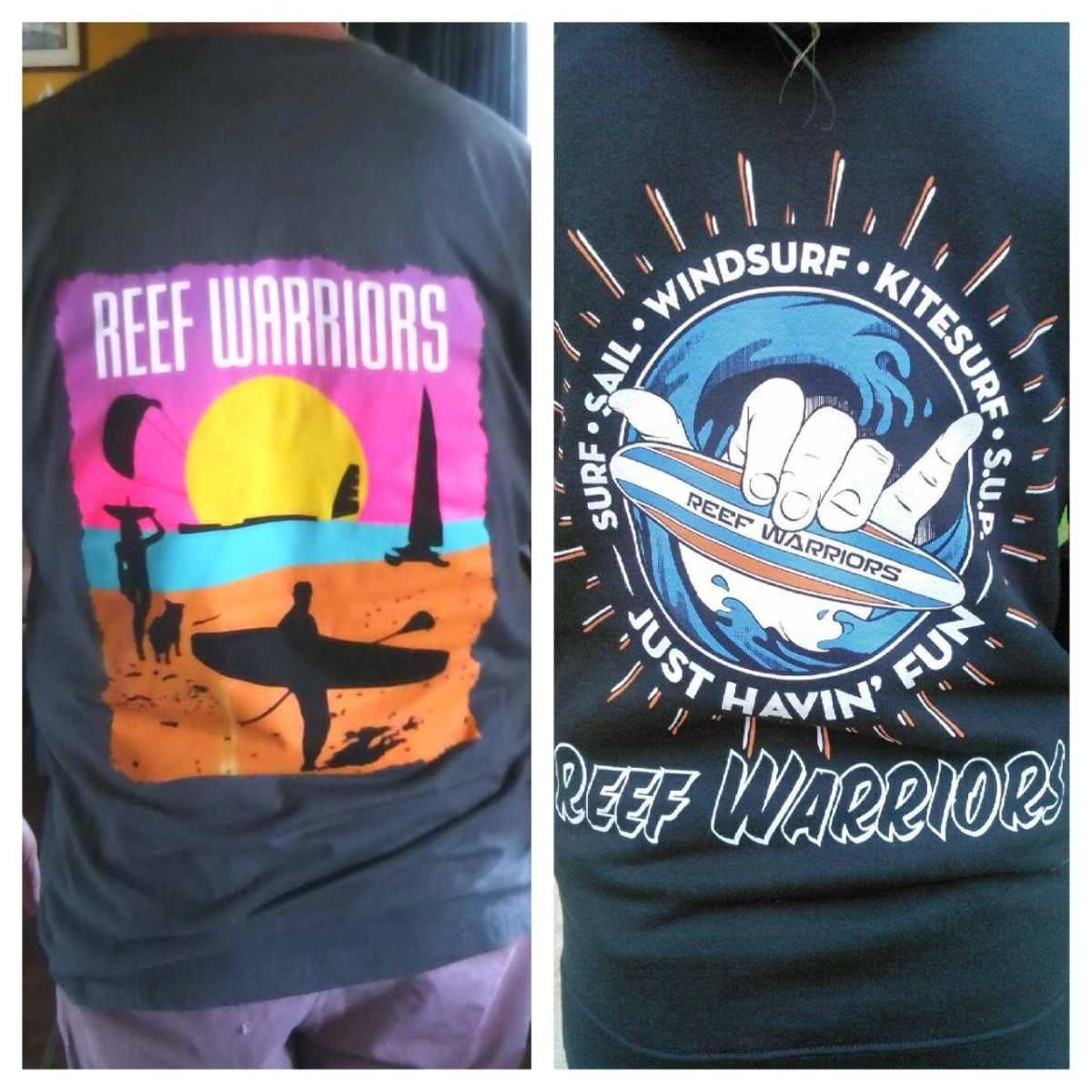 New Reef Warriors Swag!