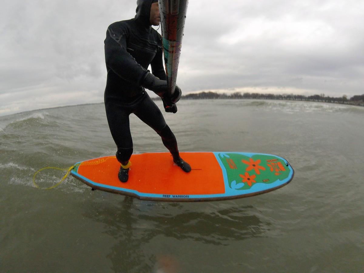 Da Reef Foil Surf Vid
