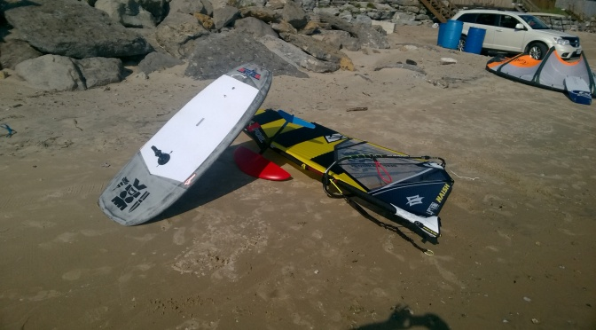 "WWF (Windsurf wave Foiling) ""What I Ride"""