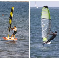 Windsurf Wave Foiling (WWF) vs Wind Foiling