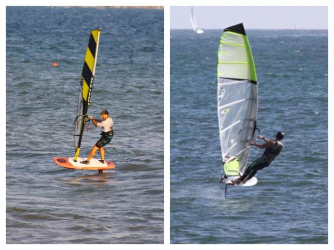 Windsurf Wave Foiling (WWF) vs Wind Foiling