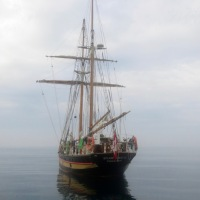 Tall ships at Da' reef